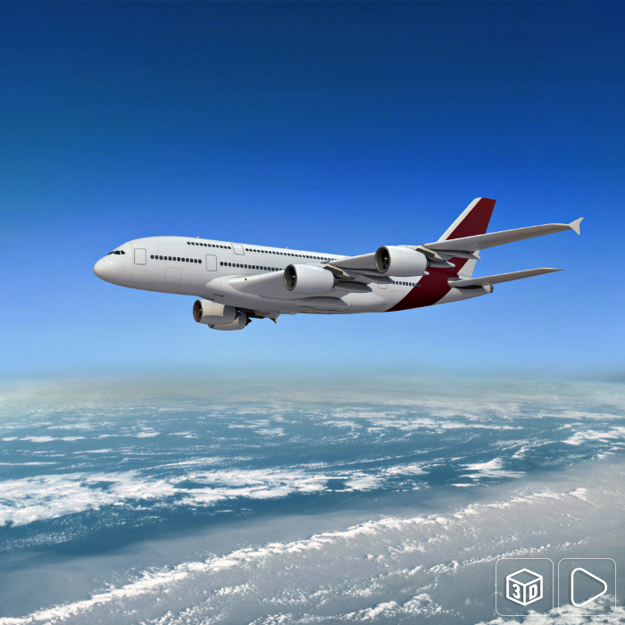 A380 Airliner rendering